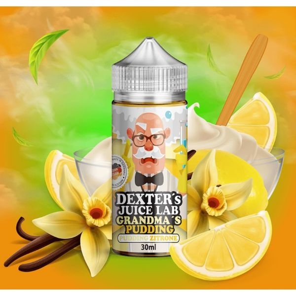 Dexter´s Juice Lab - Grandma`s Pudding Aroma 30ml