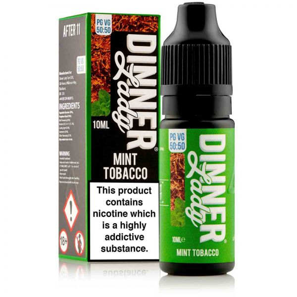 1111 - Mint Tobacco Liquid 10ml
