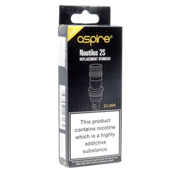 Aspire Nautilus 2S Heads 0,4 Ohm (5 Stück pro Packung)