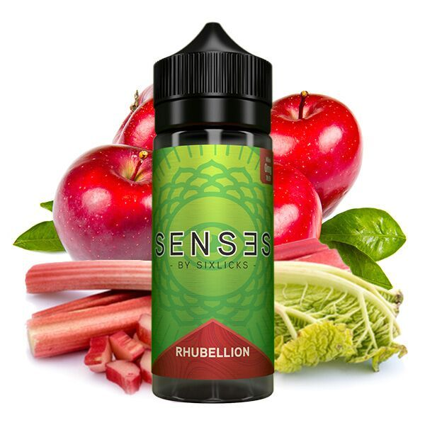 SENSES by Six Licks Rhubellion Liquid 100 ml