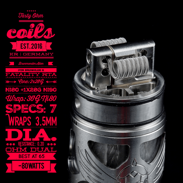 Tasty Ohm Coils Brunmonster Alien Coil