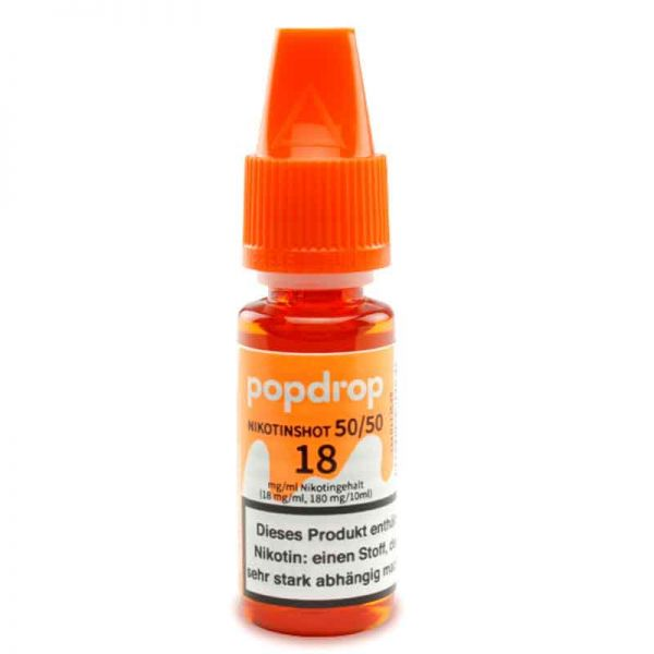 POPDROP Nikotin-Shot 50/50 18mg Nikotin