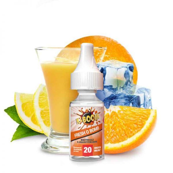 K-Boom Fresh O Bomb Nikotinsalz Liquid
