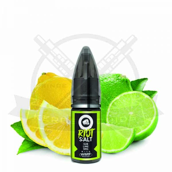 Riot Squad Sub Lime Nikotinsalz Liquid