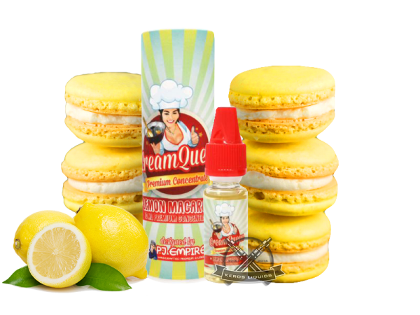 PJ Empire - Cream Queen - Lemon Macaron Aroma
