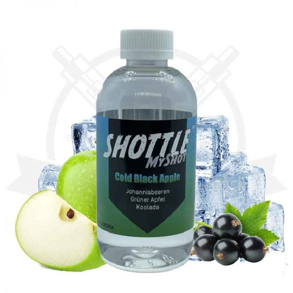 Shottle MyShot Cold Black Apple 50ml Aroma