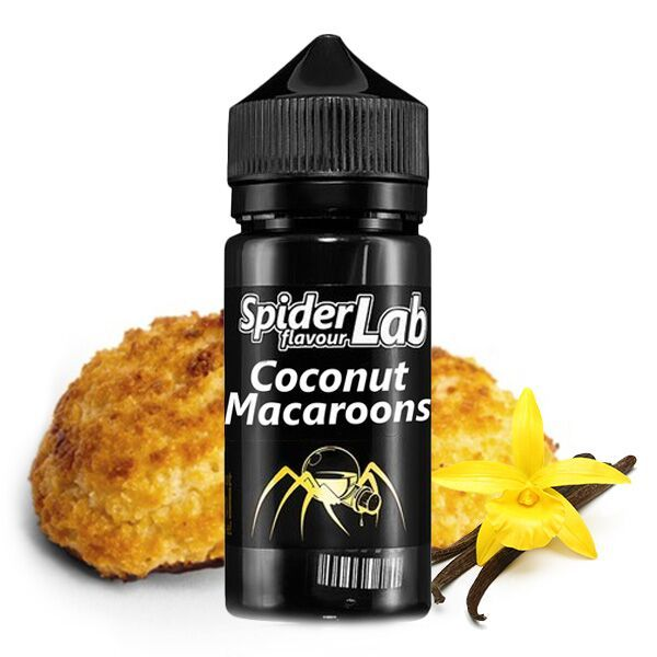 Spider Lab - Coconut Macaroons