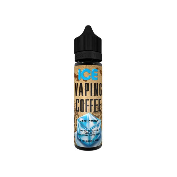 Vovan - Vaping Coffee - Cappuccino ICE 50ml Liquid