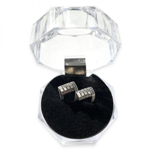 Diamonds Coils - NI80 Fused Clapton 0.22 Ω - 2 Stück