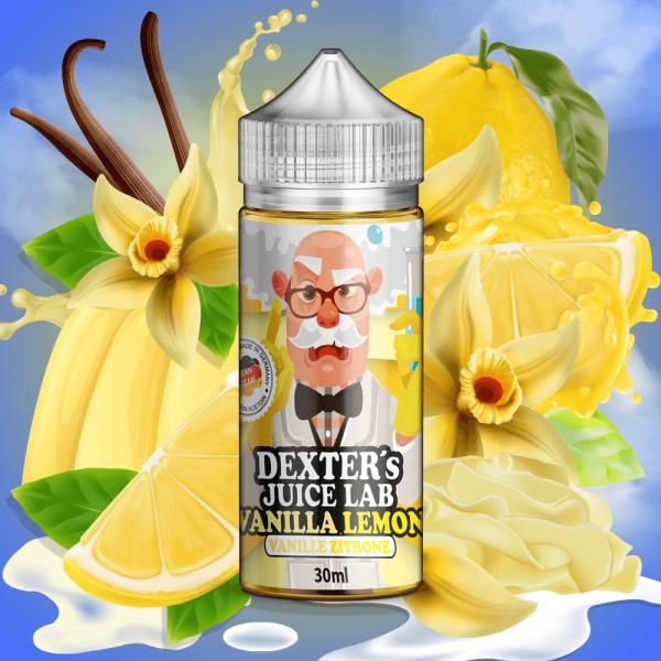 Dexter´s Juice Lab - Vanilla Lemon Aroma 30ml