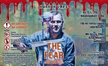 Horror Vape - The Fear - 100ml