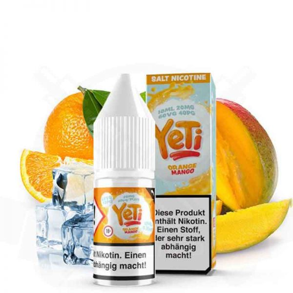 Yeti - Orange Mango 20mg Nikotinsalz Liquid