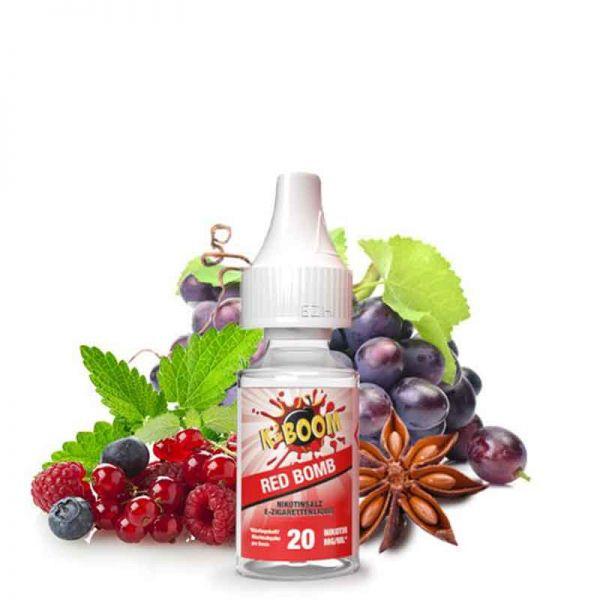 K-Boom Red Bomb Nikotinsalz Liquid