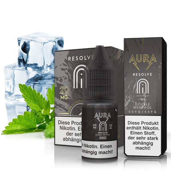 Aura - Resolve Nikotinsalz Liquid 10ml 20mg