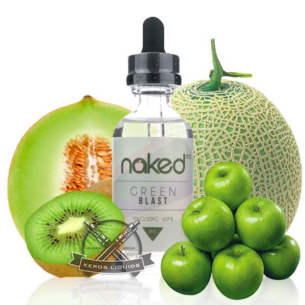 Naked 100 - Green Blast Plus