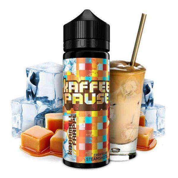 Steamshots Kaffeepause Karamell Frappe Ice Aroma 20ml