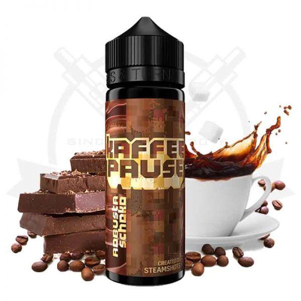Steamshots Kaffeepause Robusta Schoko Aroma