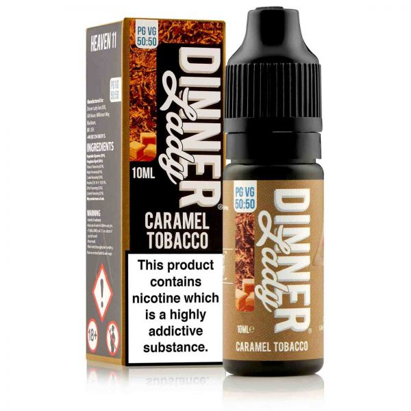 1111 - Caramel Tobacco Liquid 10ml