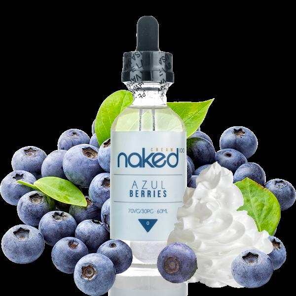 Naked 100 Cream - Azul Berries Plus