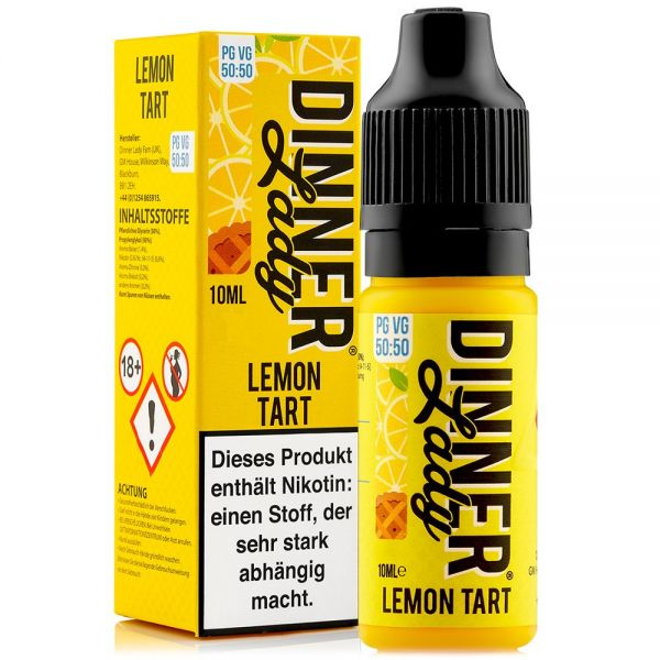 Dinner Lady - Lemon Tart Liquid 10ml