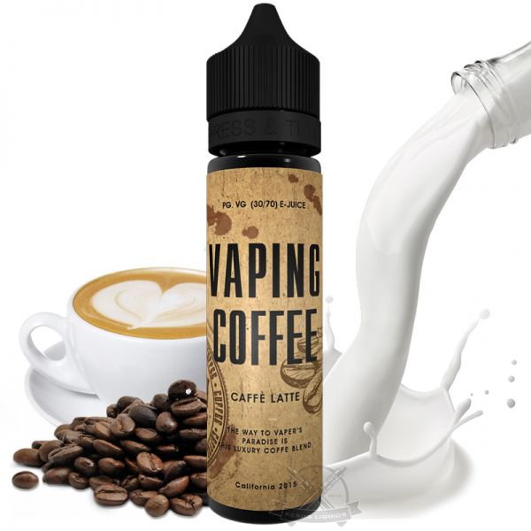 VoVan - Vaping Coffee - Café Latte Plus