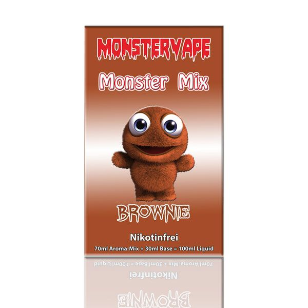 Monster Mix - Mix 'n Vape - Brownie