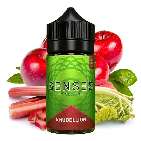 SENSES by Six Licks Rhubellion Liquid 50ml
